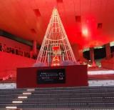 イルミネーションの模様=『ダイバーシティ劇的クリスマス ILLUMINATION WITH RED点灯式』 (C)ORICON NewS inc.