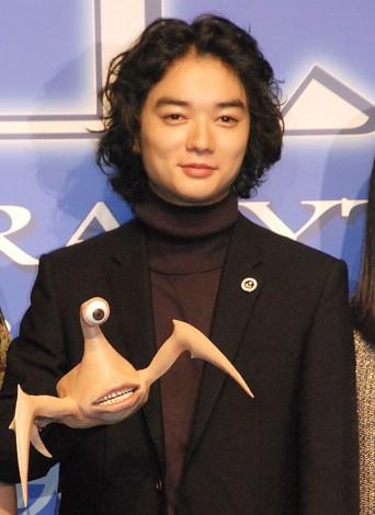 映画『寄生獣』完成報告会見に出席した染谷将太 (C)ORICON NewS inc.