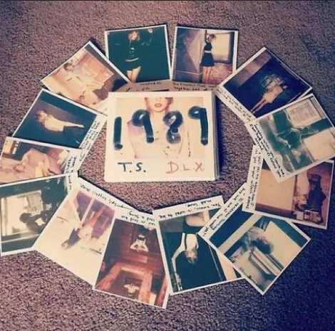 サムネイル テイラー・スウィフトの撮り下ろしショットが封入されたニューアルバム『1989』