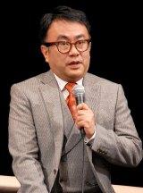 舞台『紫式部ダイアリー』初日開幕直前会見に出席した三谷幸喜 (C)ORICON NewS inc.