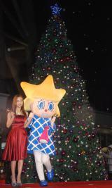 『東京スカイツリータウン ドリームクリスマス2014』のライティングセレモニーに出席した板野友美 (C)ORICON NewS inc.