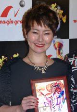 『ベスト傾奇(かぶき)ニスト2014』の「女性部門」を受賞した遠野なぎこ (C)ORICON NewS inc.