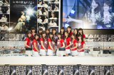 バイトAKB最終合格者50人のうち16人がファンの前で初バイト(東京・SHIBUYA TSUTAYA)(C)AKS