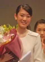 応募総数1万315通の中からグランプリに輝いた滋賀県の18歳・小林京香さん (C)ORICON NewS inc.