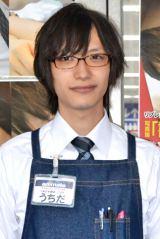 """""""書店男子""""のなかでもプリンス的人気を誇る内田裕也さん"""