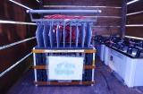 『マグネシウム燃料電池ハウス』に設置されているマグネシウム空気電池