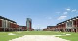異国情緒溢れる神戸のウォーターフロントにキャンパスを構える、神戸学院大学の神戸ポートアイランドキャンパス