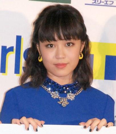 『E-girls×Tポイント』キャンペーンPRイベントに出席したE-girls・鷲尾伶菜 (C)ORICON NewS inc.