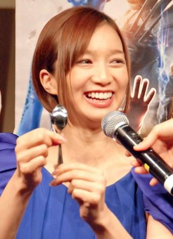 映画『X-MEN:フューチャー&パスト』ブルーレイ&DVD発売記念イベントに出席した芹那 (C)ORICON NewS inc.