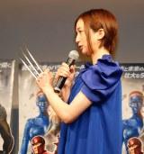 映画『X-MEN:フューチャー&パスト』ブルーレイ&DVD発売記念イベントに出席した芹那