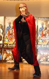 映画『X-MEN:フューチャー&パスト』ブルーレイ&DVD発売記念イベントに出席した東貴博
