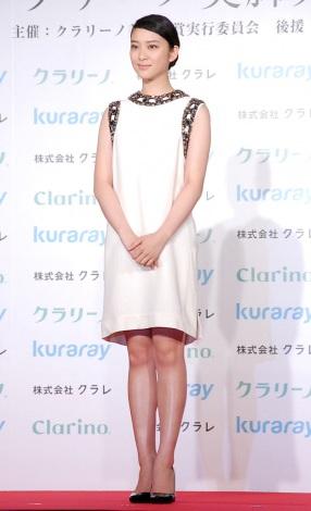 『第12回 クラリーノ美脚大賞2014』20代部門を受賞した武井咲 (C)ORICON NewS inc.