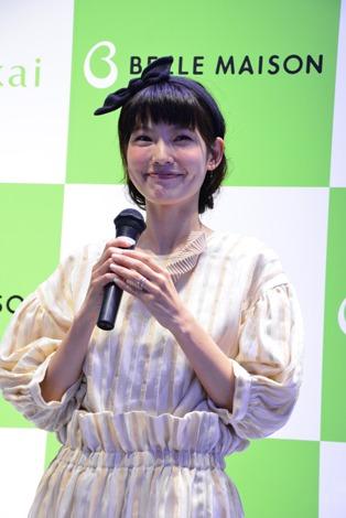「働く女性を笑顔にするアイデア『1000 IDEAS FOR WOMEN』」に出席したモデルの森貴美子 (C)oricon ME inc.470_DSC_0508