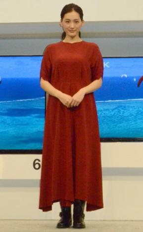 サムネイル 『VIERA』新製品発表会に登壇した綾瀬はるか (C)oricon ME inc.