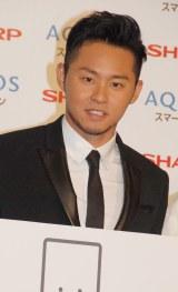 スマートフォンAQUOS WEBプロモーション『エモ動』告知イベントに出席した北島康介 (C)ORICON NewS inc.