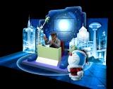 ドラえもんと未来の世界を旅することができる「バーチャルタイムマシン」のイメージ (C)Fujiko-Pro