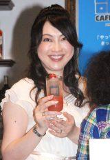 『GINZA 部活CAFE&BAR!』のプレス内覧会に出席した長坂靖子 (C)ORICON NewS inc.