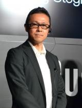 『ブラウン シリーズ9』発表会にゲストとして登場した和田智氏 (C)oricon ME inc.