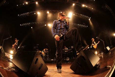 KOKI名義でメインボーカルを務める5人組ロックバンド・INKTで初歌唱をした田中聖