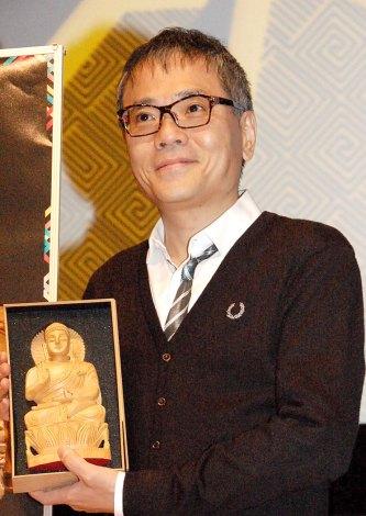 特別展『コルカタ・インド博物館所蔵 インドの仏 仏教美術の源流』報道発表会に出席したいとうせいこう (C)ORICON NewS inc.