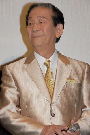 映画『トワイライト ささらさや』初日舞台あいさつに登場した小松政夫 (C)ORICON NewS inc.
