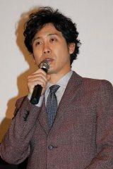 映画『トワイライト ささらさや』初日舞台あいさつに登場した大泉洋 (C)ORICON NewS inc.