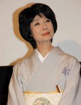 映画『トワイライト ささらさや』初日舞台あいさつに登場した富司純子 (C)ORICON NewS inc.