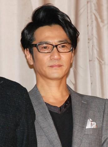 映画『花宵道中』の初日舞台あいさつに登場した津田寛治 (C)ORICON NewS inc.