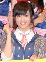アイドル専門チャンネル『Kawaiian TV』記者会見に出席したNMB48・山本彩 (C)ORICON NewS inc.