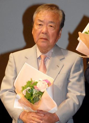 映画『救いたい』完成披露試写会舞台あいさつに出席した神山征二郎監督 (C)ORICON NewS inc.