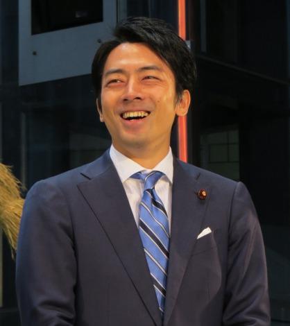 笑顔を見せる、小泉進次郎復興大臣政務官 (C)ORICON NewS inc.