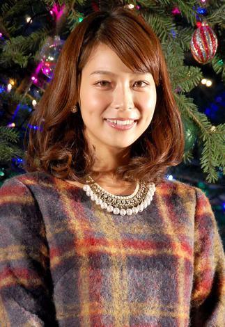 クリスマスツリー『ヒカリノキ』点灯式に出席した相武紗季 (C)ORICON NewS inc.