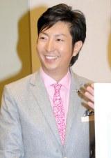 Dlife雑談バラエティ『キニナルーム。』の取材会に出席した有村昆 (C)ORICON NewS inc.