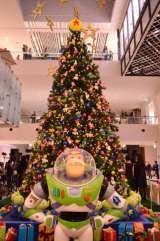 映画『トイ・ストーリー』のツリーが横浜に出現! (C)Disney/Pixar,oricon ME inc.