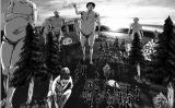 完成したオリジナル巨人は、facebook/Twitter上にシェアすることができます(C)諫山創・講談社/「進撃の巨人展」製作委員会