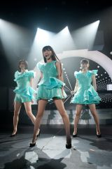 デビュー10年目で自身初のニューヨーク公演を行ったPerfume(左からのっち、かしゆか、あ〜ちゃん)