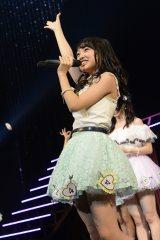 AKB48全国ツアー大分公演(昼)の模様(写真は向井地美音)(C)AKS