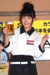 居酒屋フリーマガジン『宴会JAPAN』発行記念イベントに出席したNMB48・山田菜々 (C)ORICON NewS inc.