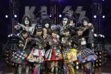 ももクロとKISSがコラボだZ! Photo by Hiroshi Manaka