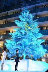 吉瀬美智子が登場! JPタワー商業施設「KITTE」のクリスマスイルミネーション点灯式の模様 (C)oricon ME inc.