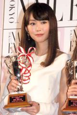 『ネイルクイーン 2014』授賞式に出席した桐谷美玲 (C)ORICON NewS inc.