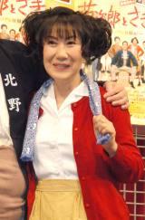 舞台『菊次郎とさき〜北野家の逆転!?金メダル狂騒曲!〜』製作発表に出席した室井滋