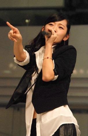 新曲「I miss you/THE FUTURE」のリリース記念イベントを行った℃-uteの鈴木愛理 (C)ORICON NewS inc.