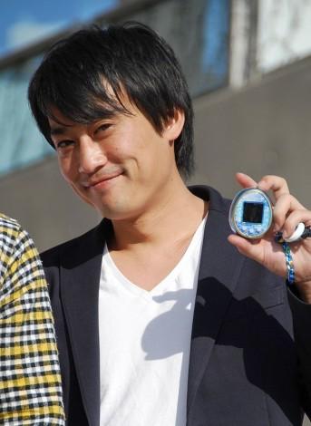 『たまごっち誕生祭2014〜スペシャルステージ〜』に参加したフルーツポンチの村上健志 (C)ORICON NewS inc.
