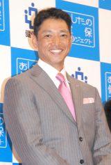 健康保険組合連合会全国大会』のアスリートトークセッションに出席した田口壮 (C)ORICON NewS inc.