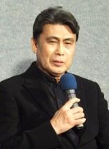 NHKの主演ドラマ『ナイフの行方』の会見に出席した松本幸四郎 (C)ORICON NewS inc.