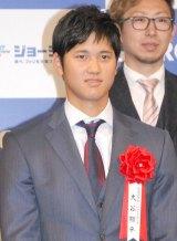『2014年度 ジョージア魂賞』授賞式に出席した大谷翔平選手 (C)ORICON NewS inc.