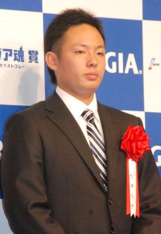 『2014年度 ジョージア魂賞』授賞式に出席した松井裕樹選手 (C)ORICON NewS inc.