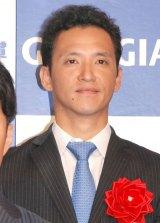 『2014年度 ジョージア魂賞』授賞式に出席した松本哲也選手 (C)ORICON NewS inc.