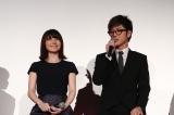 『ノイタミナプロジェクト発表会2015』に出席した(左から)花澤香菜、櫻井孝宏